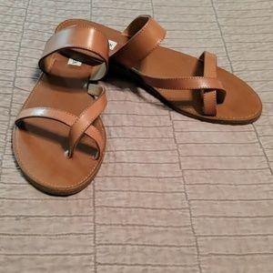 Steve Madden Ain't so cognac brown sandal